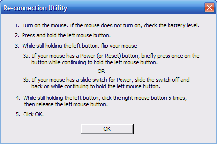 Using Logitech's SetPoint Connect Utility to fix your mouse's